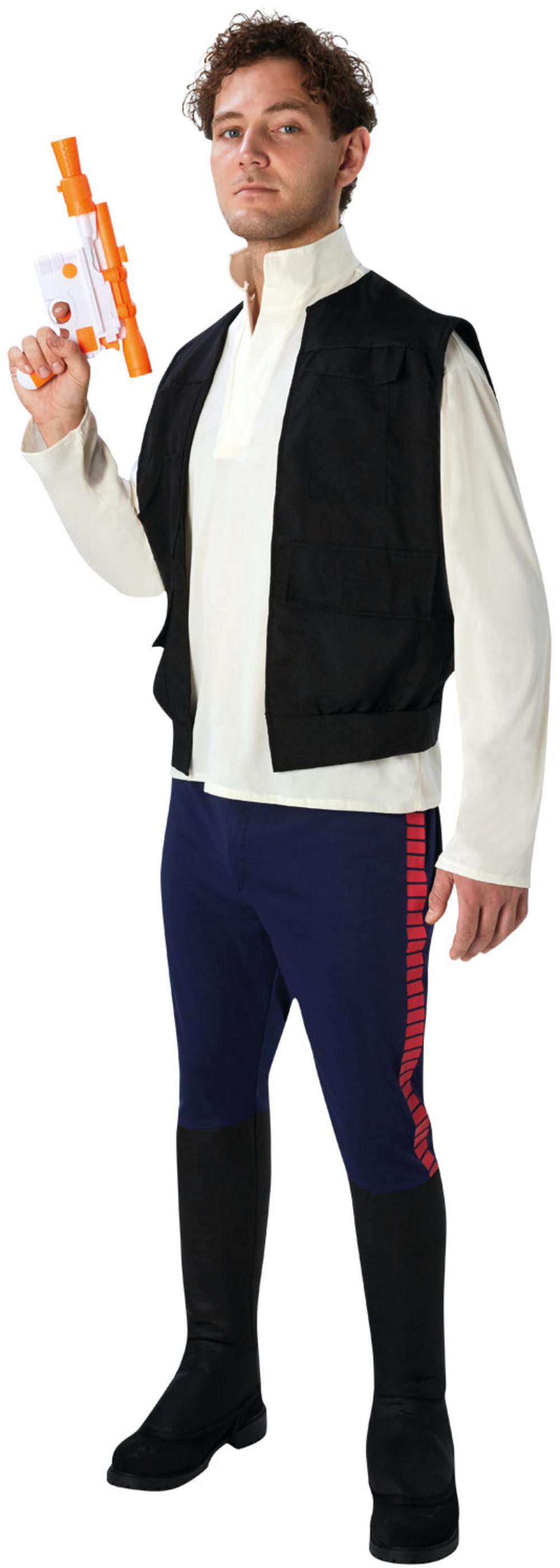 Deluxe Star Wars Han Solo Mens Costume