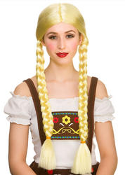 Oktoberfest Beer Girl Wig