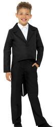 Black Tailcoat Kids Costume Accessory