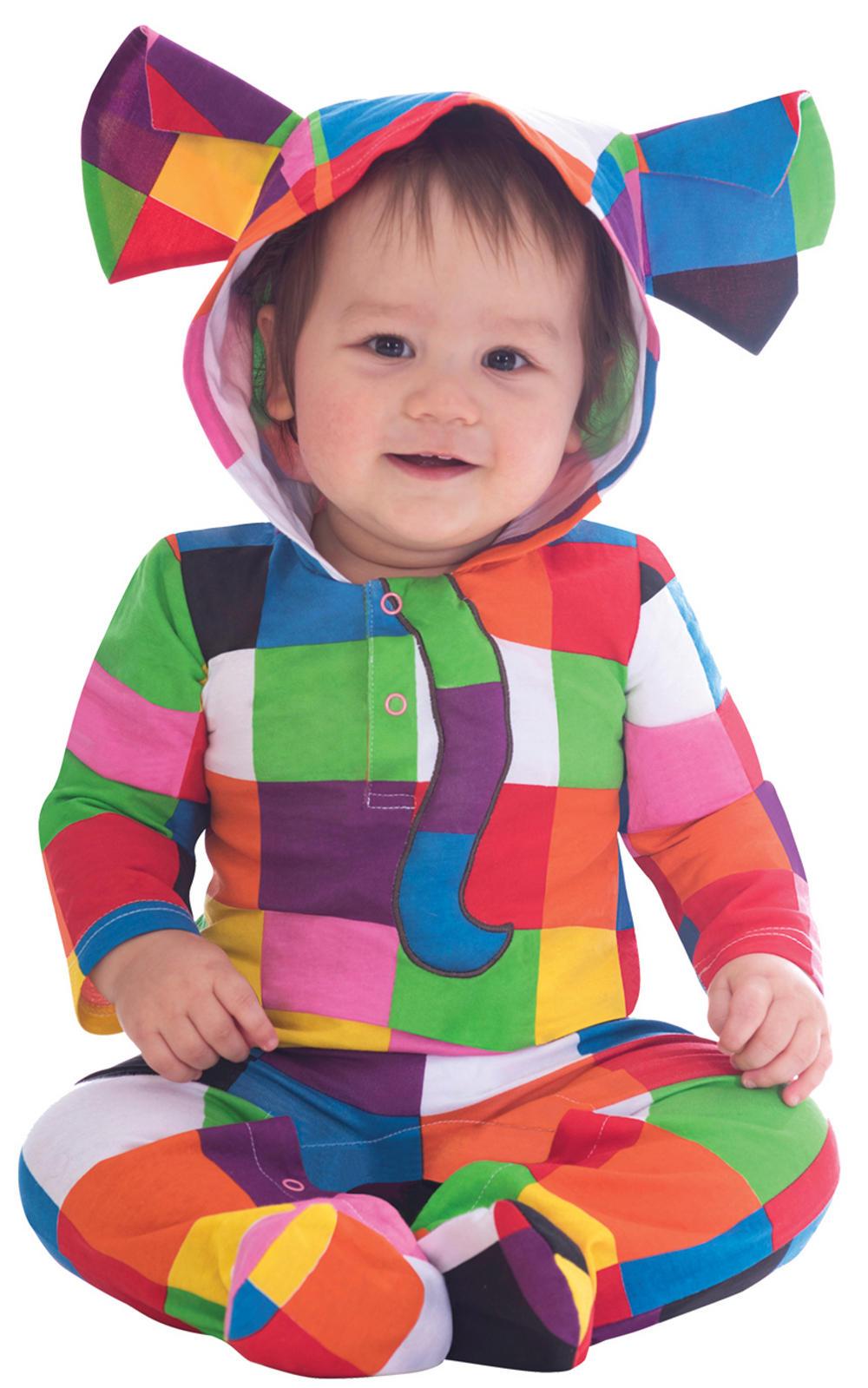 Elmer Baby Costume