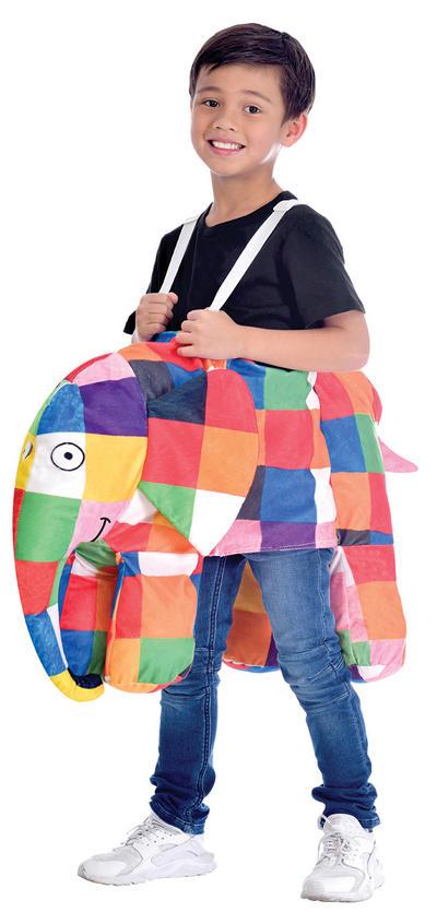 Elmer Ride On Kids Costume