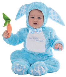 Little Wabbit Blue Baby Costume