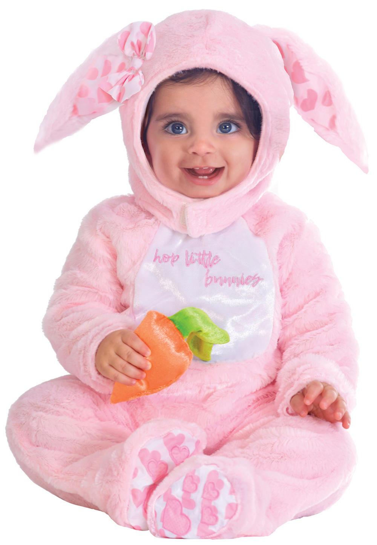 Little Wabbit Pink Baby Costume
