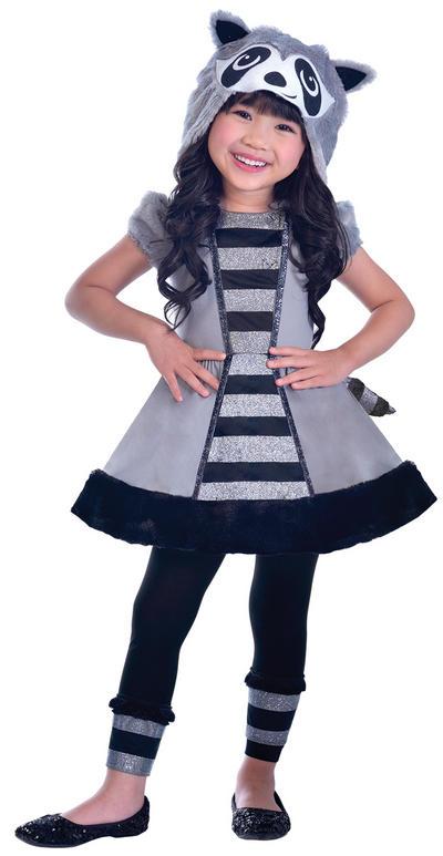 Racoon Girls Costume