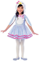 Blue Penguin Girls Costume