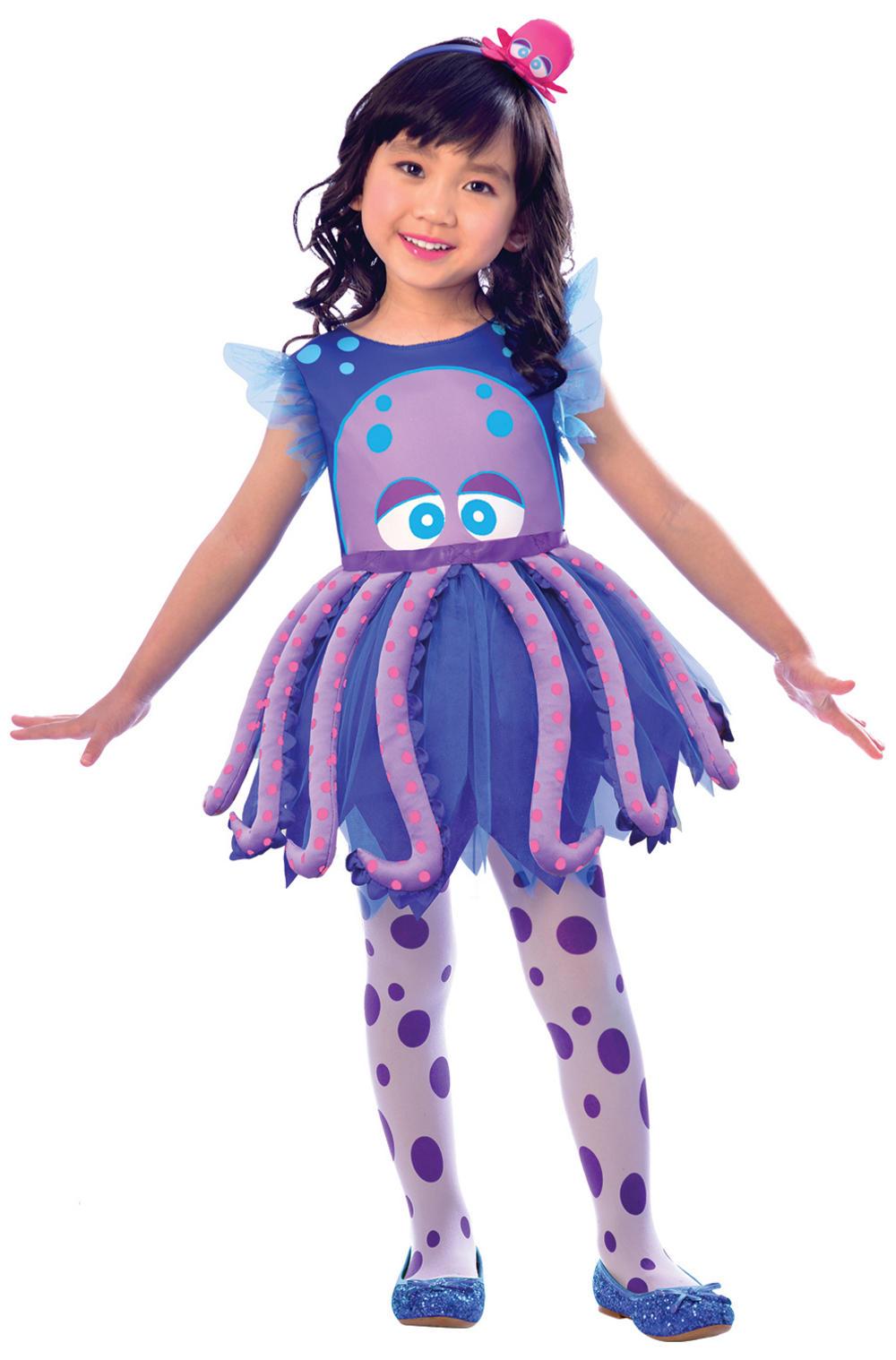 Octopus Girls Costume