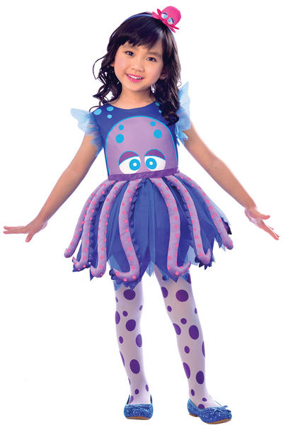 Octopus Girls Costume