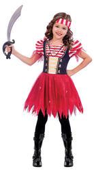 High Seas Pirate Girls Costume