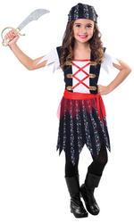 Pirate Cutie Girls Costume