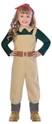 Landgirl Girls Costume