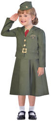 WW2 Girl Soldier Girls Costume