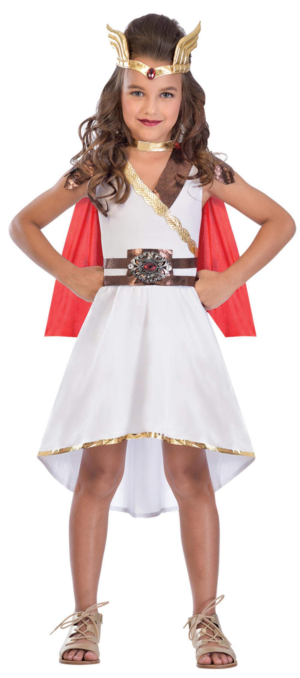 Goddess Princess Girls Costume