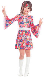 Miss 60s Girls Costume