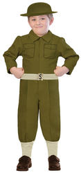 WW1 Soldier Boys Costume