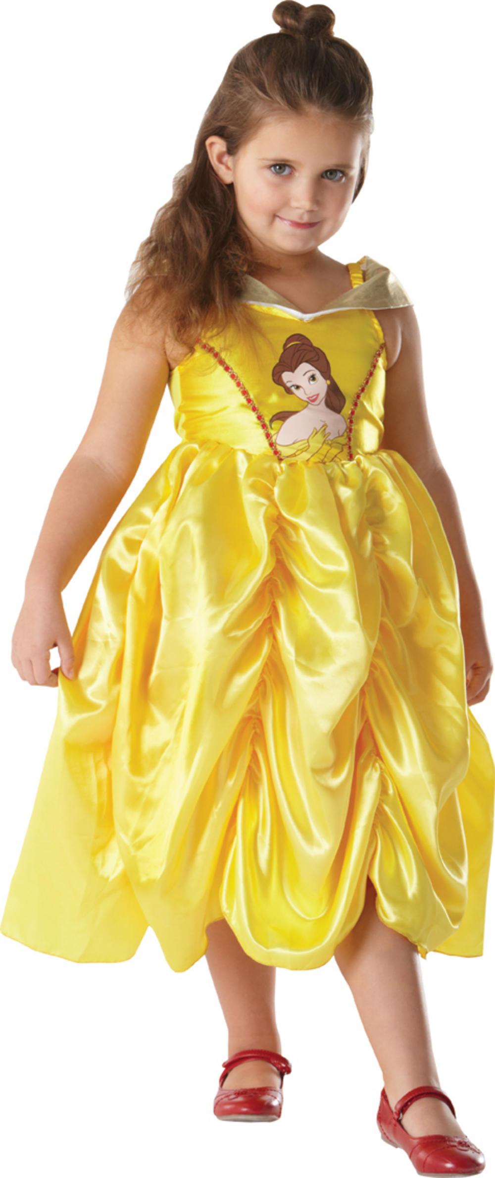 Girls 39 classic disney belle costume letter b costumes mega fancy dress - Costume princesse disney adulte ...