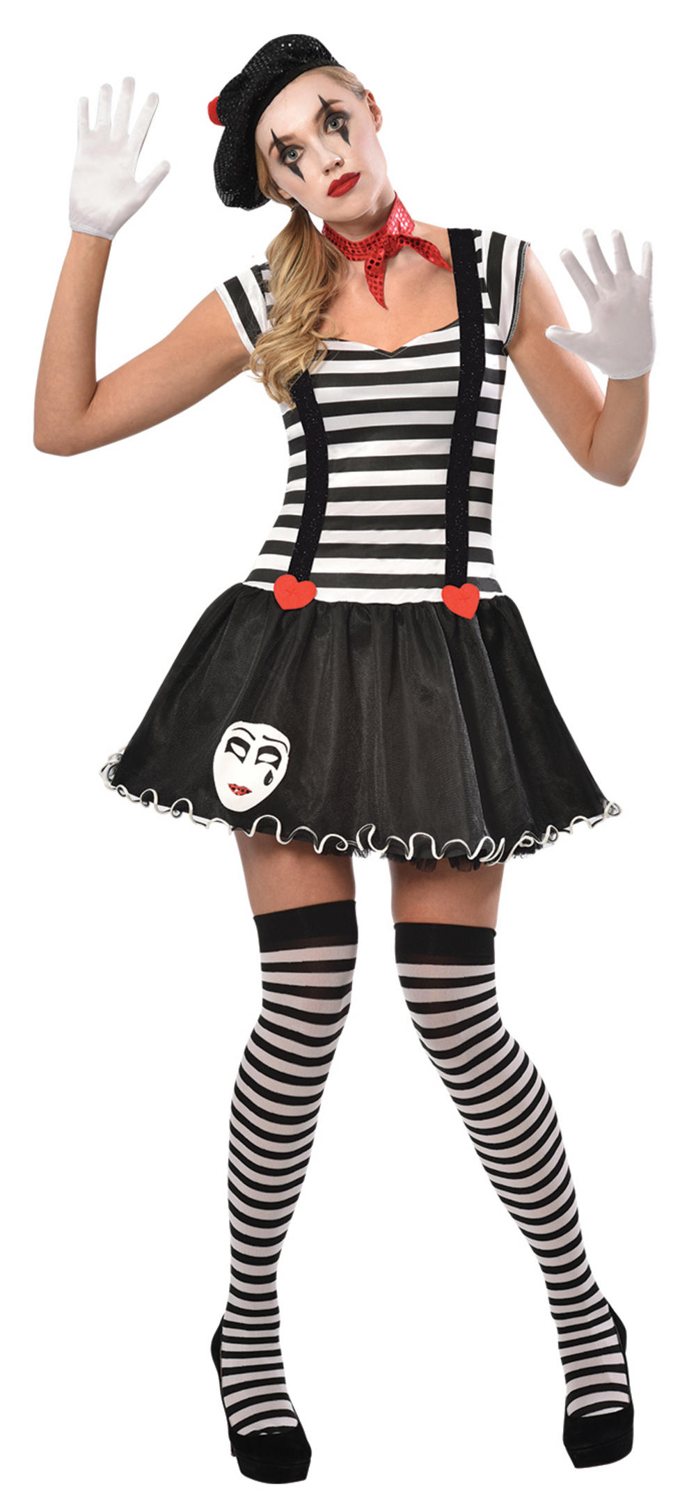 Miss Mime Ladies Costume
