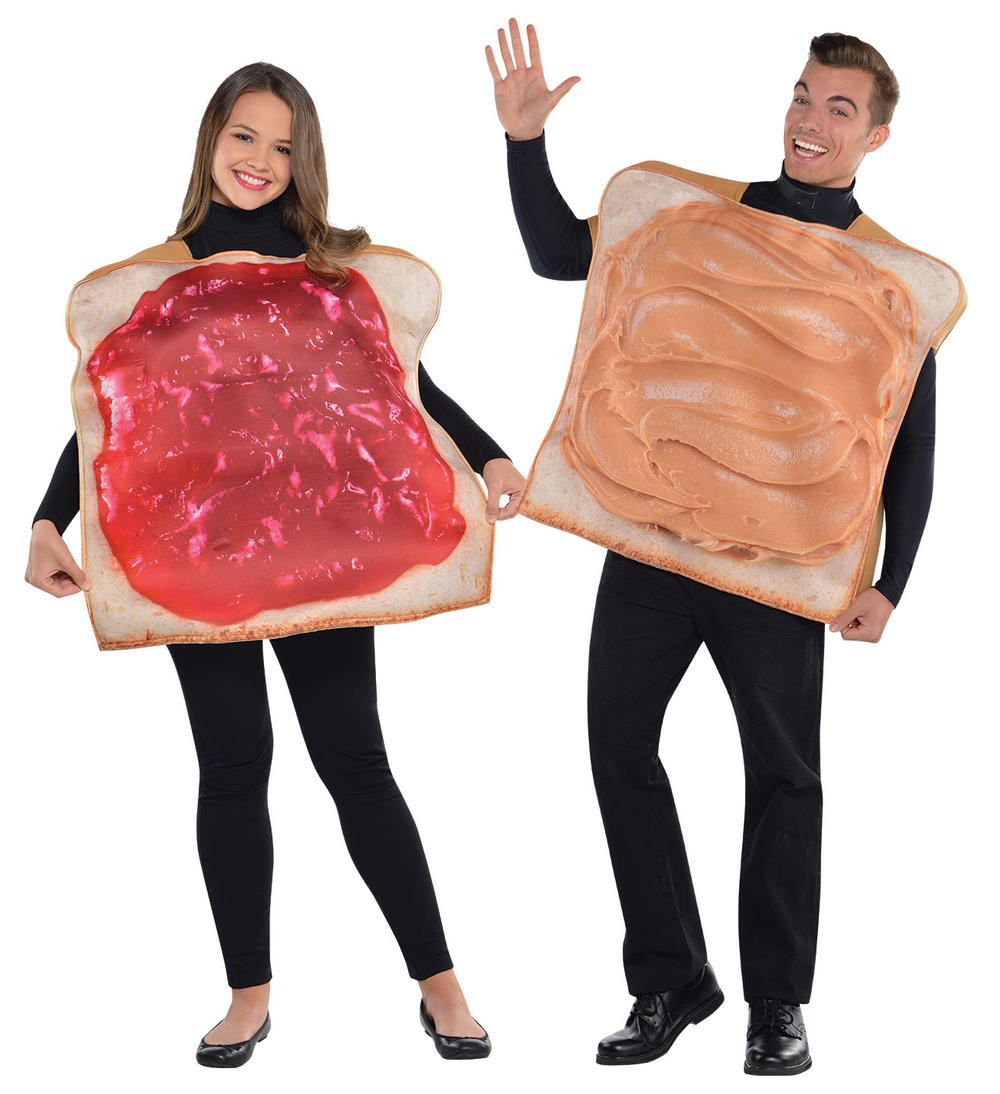Peanut Butter & Jam Adults Costumes