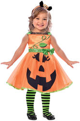 Cute Pumpkin Girls Costume