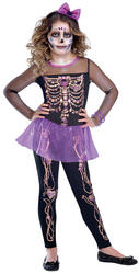 Bling Bones Cutie Kids Costume