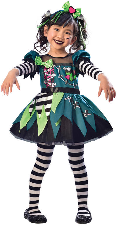 Little Miss Frankie Girls Costume