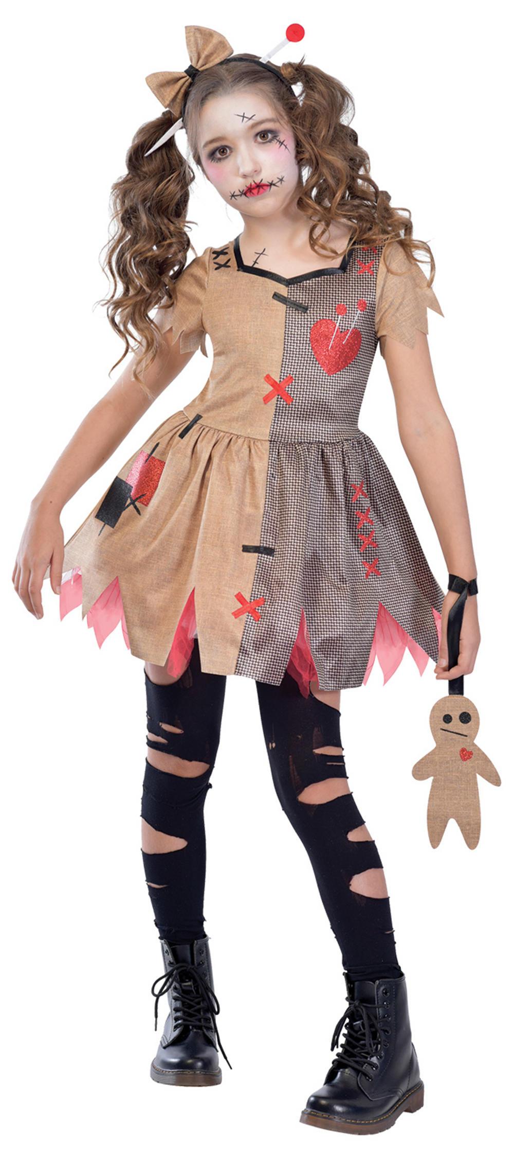 Voodoo Doll Girls Costume
