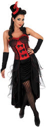 Red Burlesque Dancer Costume