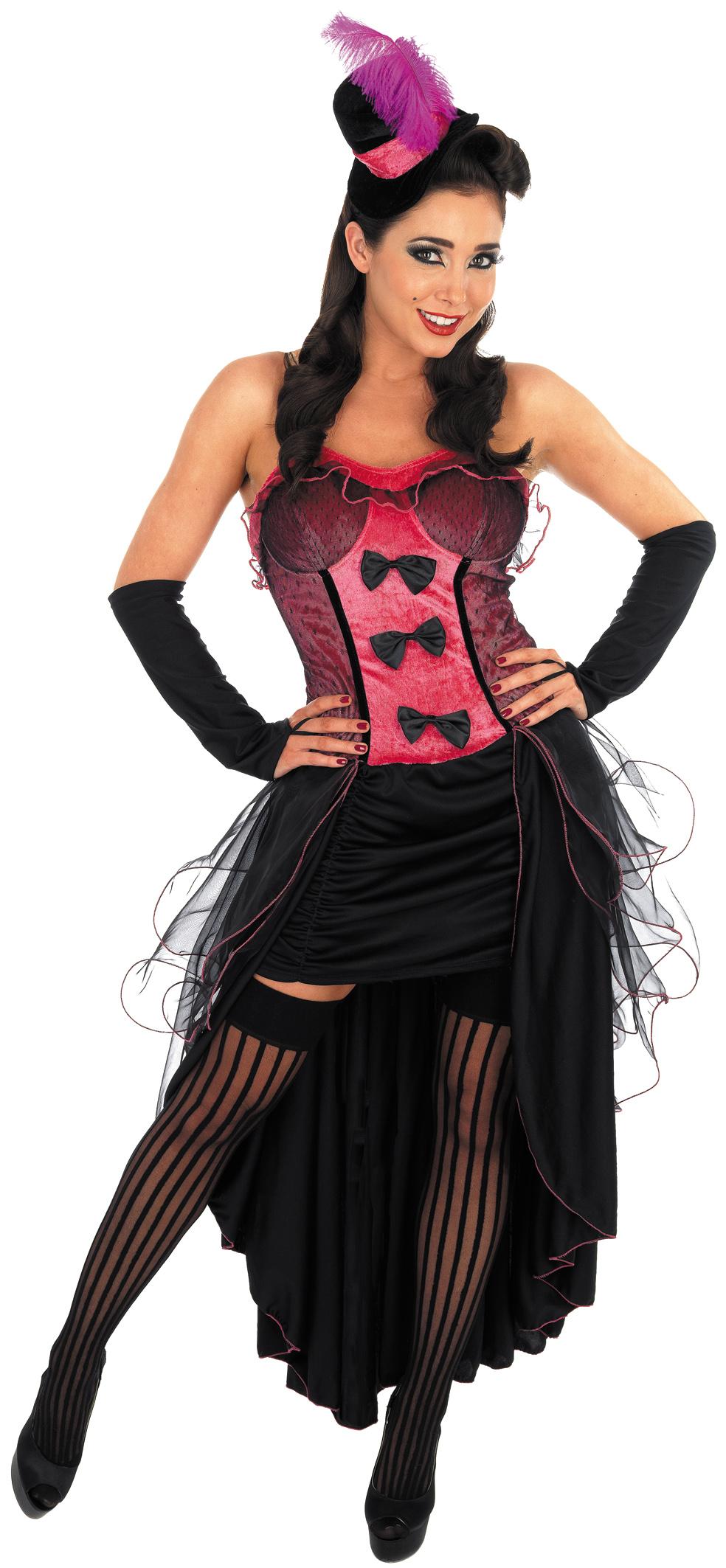 Pink Burlesque Dancer Costume All Ladies Costumes Mega