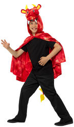 Dragon Cape Kids Costume