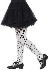 Dalmatian Spot Tights Childs