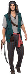 Pirate Deckhand Mens Costume