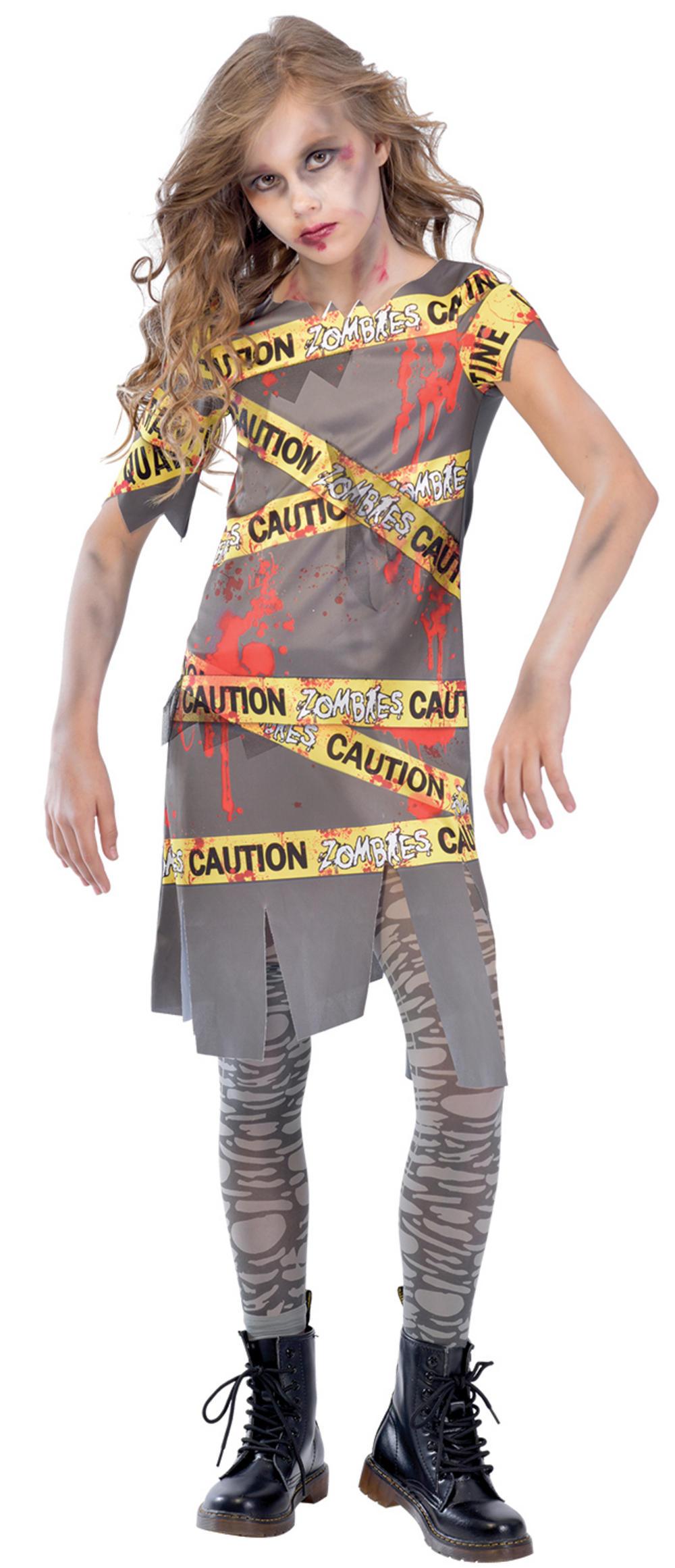 Caution Zombie Girls Costume