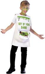Slimy Toilet Boys Costume
