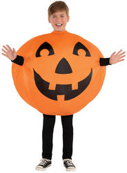 Inflatable Jack-O-Lantern Kids Costume