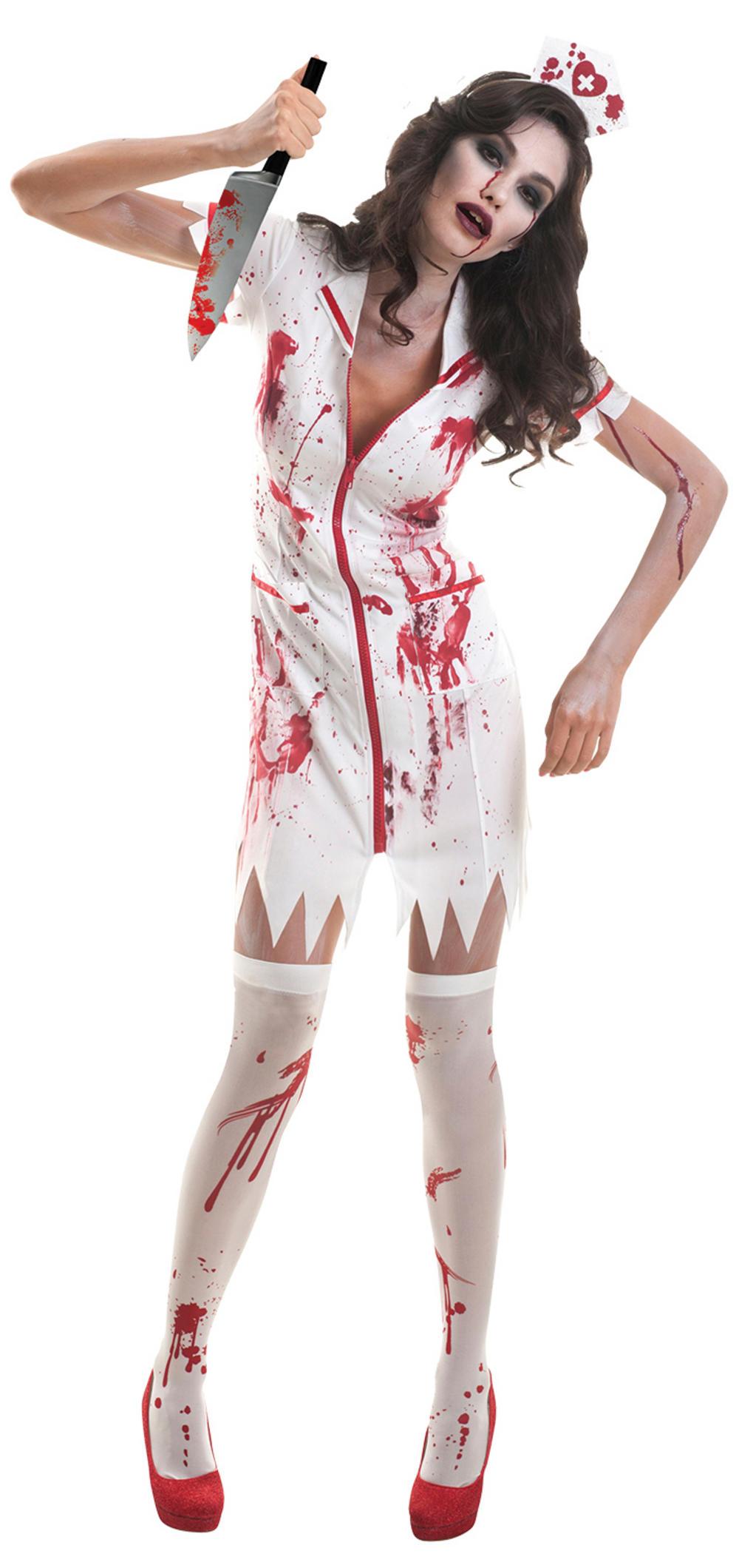 Zombie Nurse Ladies Costume