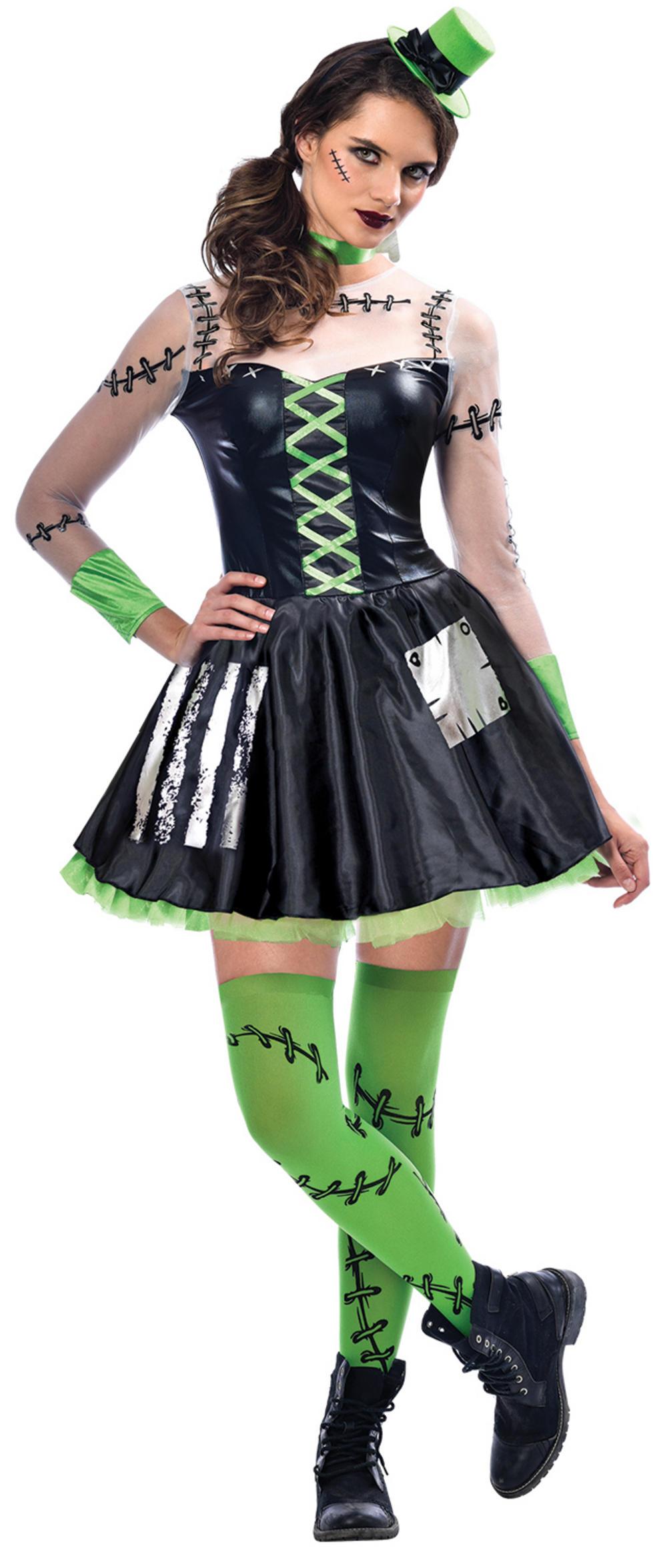 Freaky Frankie Ladies Costume