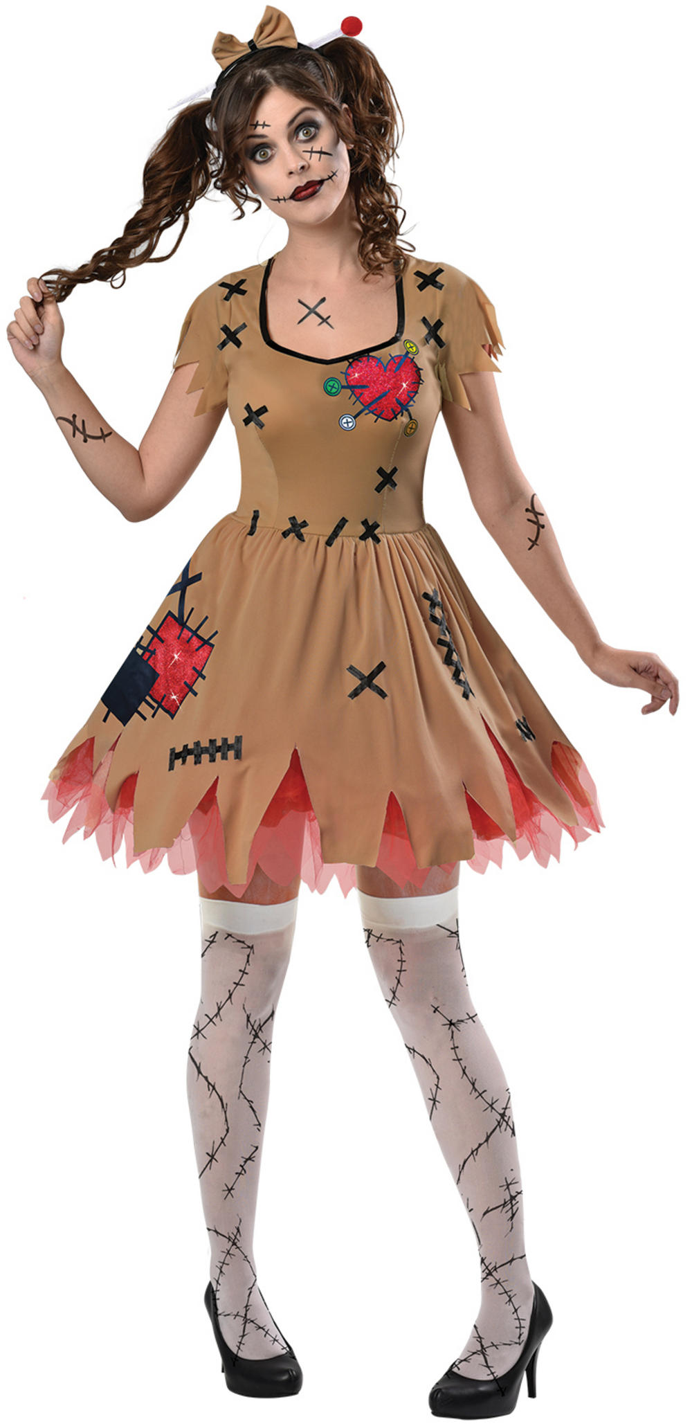 Miss Voodoo Ladies Costume