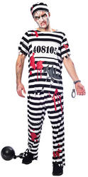 Zombie Convict Mens Costume