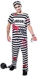 Zombie Convict Mens Costume