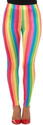 Rainbow Clown Ladies Leggings