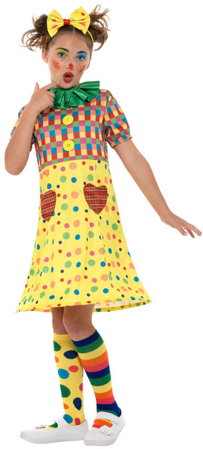 Clown Girls Costume