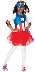 Metallic Captain America Costume