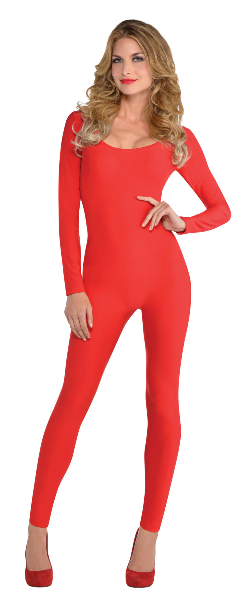 Red Catsuit Ladies Costume