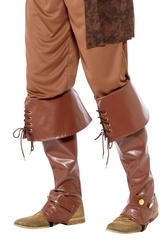 Deluxe Brown Pirate Bootcovers