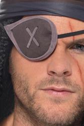 Grey Pirate Eyepatch