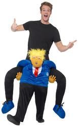 Piggyback President Costume