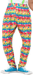 Clown Trousers Mens Costume Accessory