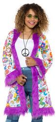 60s Groovy Hippie Ladies Coat
