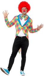 Checked Clown Tailcoat Jacket