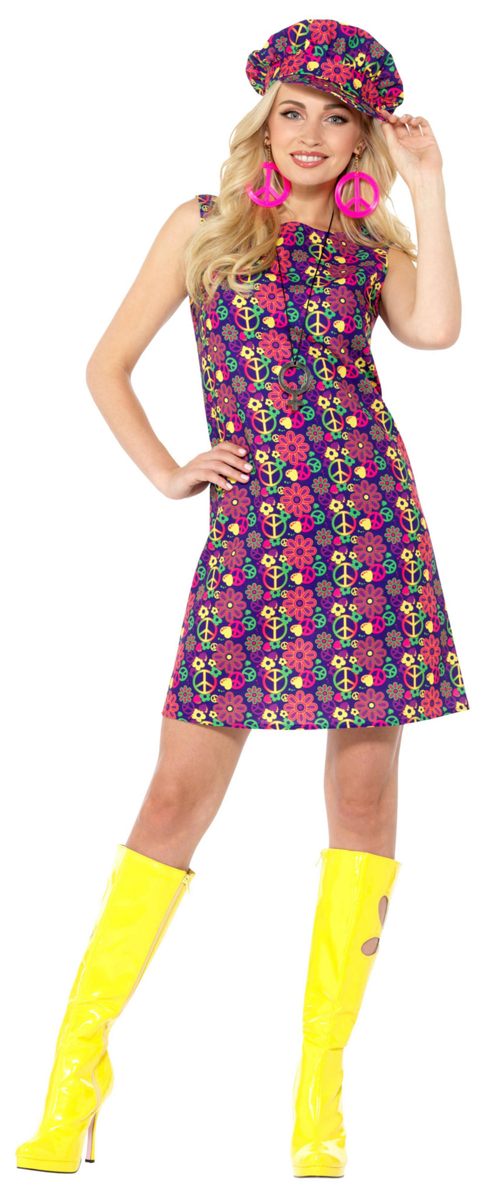 1960s Psychedelic CND Ladies Costume