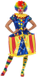 Deluxe Light Up Carousel Clown Ladies Costume